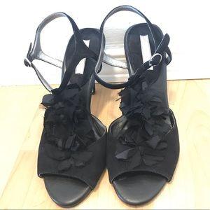 Black Salsa Shoes - Banana Republic